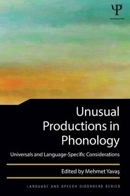 Unusual Productions in Phonology book
