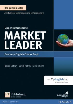 Market Leader 3rd Edition Extra Upper Intermediate Coursebook with DVD-ROM and MyEnglishLab Pack by Lizzie Wright