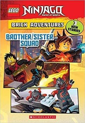 Brother/Sister Squad (Lego Ninjago: Brick Adventures) by Meredith Rusu