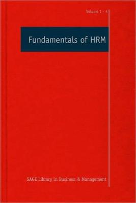 Fundamentals of HRM book
