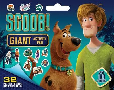 Scoob!: Giant Activity Pad (Warner Bros) book