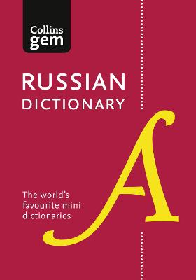 Collins Russian Dictionary Gem Edition book