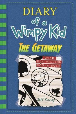 The Getaway: Diary of a Wimpy Kid (BK12): Diary of a Wimpy Kid Book 12 by Jeff Kinney