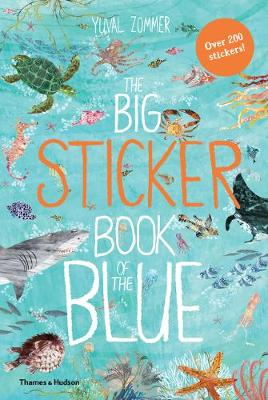 Big Sticker Book of the Blue by Yuval Zommer