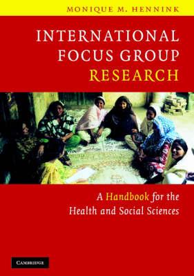 International Focus Group Research book