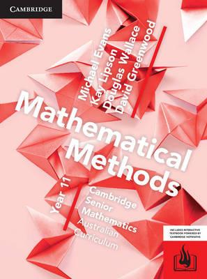 CSM AC Mathematical Methods Year 11 Print Bundle (Textbook and Hotmaths) book