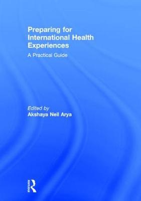 Preparing for International Health Experiences book