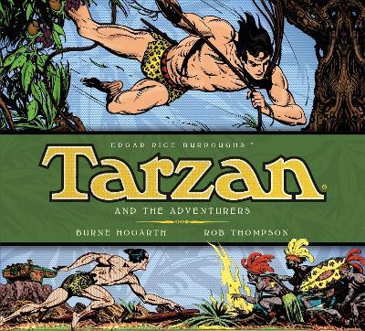 Tarzan - Tarzan and the Adventurers (Vol. 5) by Burne Hogarth