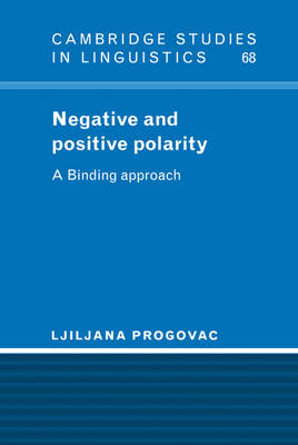 Negative and Positive Polarity book