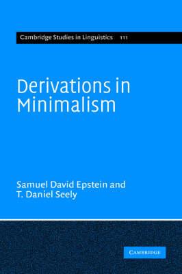 Derivations in Minimalism book