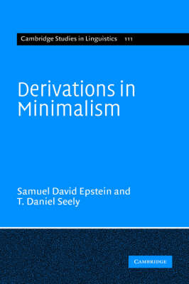 Derivations in Minimalism book
