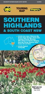 Southern Highlands & South Coast NSW Map 283/298 3rd ed by UBD Gregory's