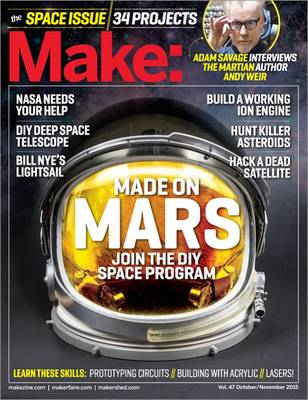 Make: The Space Issue by Jason Babler