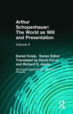Arthur Schopenhauer book