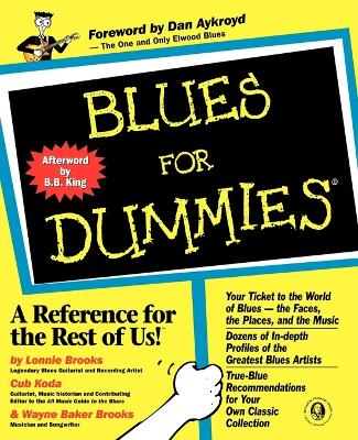 Blues for Dummies book