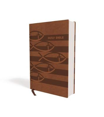 ICB, Holy Bible, Leathersoft, Brown: International Children's Bible by Thomas Nelson