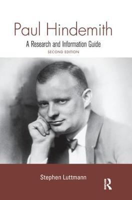 Paul Hindemith book