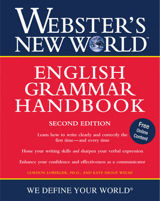 Webster's New World English Grammar Handbook by Kate Shoup