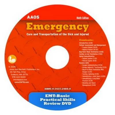 EMT-Basic Practical Skills Review DVD by American Academy of Orthopaedic Surgeons (AAOS)