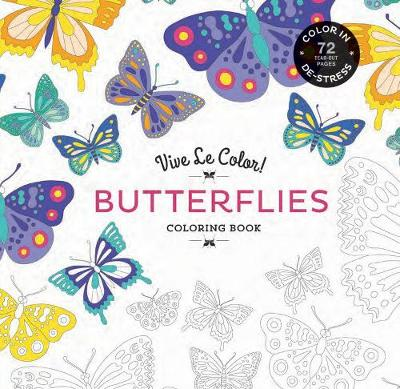 Butterflies Coloring Book by Abrams Noterie