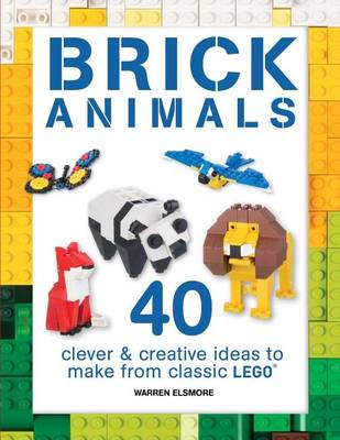 Brick Animals book