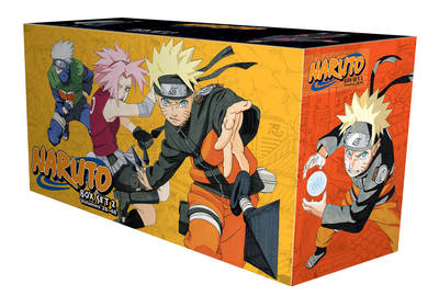 Naruto Box Set 2 by Masashi Kishimoto