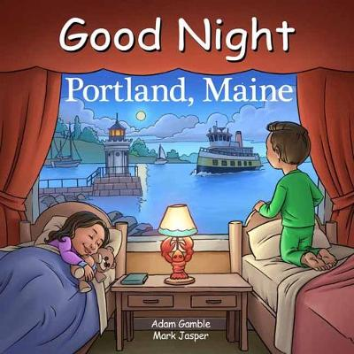 Good Night Portland Maine by Adam Gamble