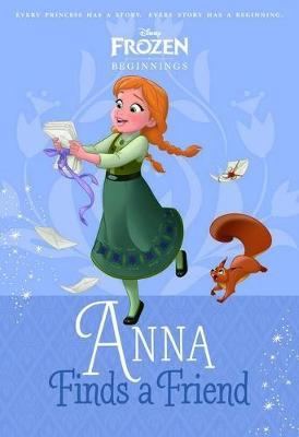 DISNEY BEGINNINGS ANNA book