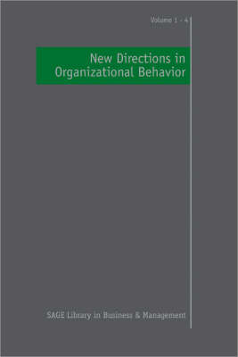 New Directions in Organizational Behavior by Cary L. Cooper