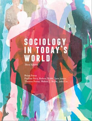 Sociology in Today's World with Online Study Tools 12 months by Brian Furze