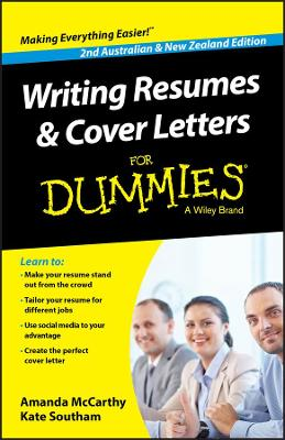 Writing Resumes and Cover Letters For Dummies - Australia / NZ book