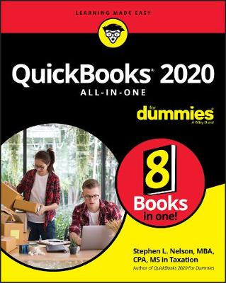 QuickBooks 2020 All-in-One For Dummies book