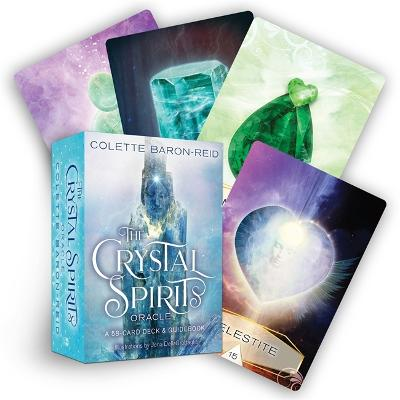 The Crystal Spirits Oracle: A 58-Card Deck and Guidebook by Colette Baron-Reid