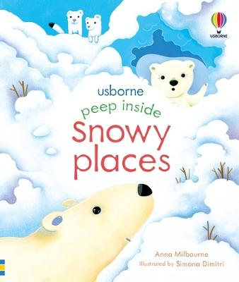 Peep Inside Snowy Places book