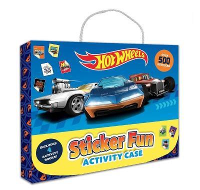 Hot Wheels: Sticker Fun Activity Case (Mattel) book