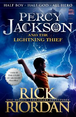 Percy Jackson and the Lightning Thief (Book 1) book