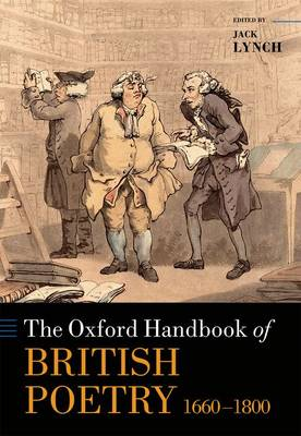 The Oxford Handbook of British Poetry, 1660-1800 by Jack Lynch