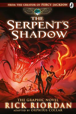 The Serpent's Shadow: The Graphic Novel (The Kane Chronicles Book 3) by Rick Riordan