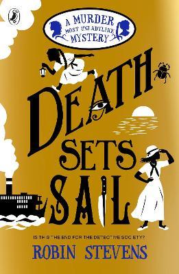 Death Sets Sail book