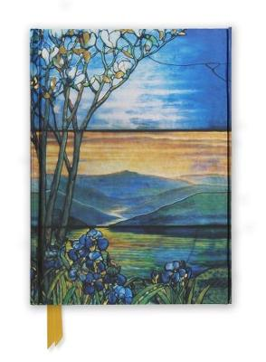 Tiffany Leaded Landscape with Magnolia Tree (Foiled Journal) by Flame Tree Studio