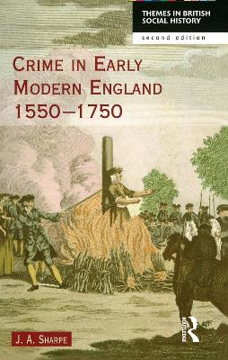 Crime in Early Modern England 1550-1750 book