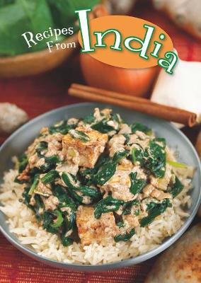 Recipes from India book