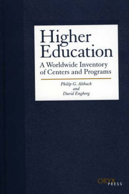 Higher Education by Philip G. Altbach