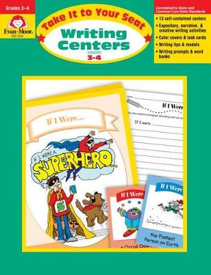 Writing Centers Grades 3-4 by Evan-Moor Educational Publishers