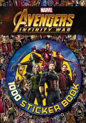 Avengers Infinity War: 1000 Sticker Book book