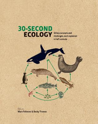 30-Second Ecology: 50 key concepts and challenges, each explained in half a minute book