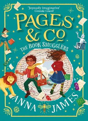 Pages & Co.: The Book Smugglers (Pages & Co., Book 4) by Anna James