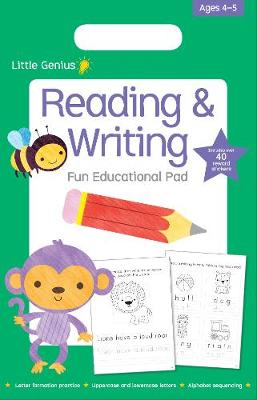 Little Genius Small Pad - Reading & Writing book