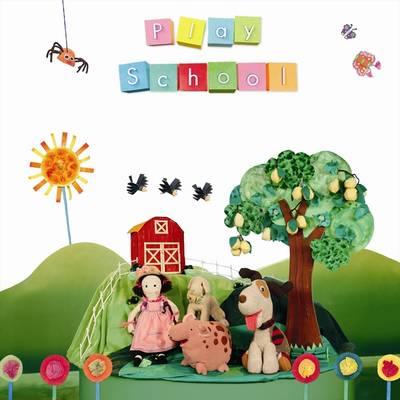 Play School Nursery Rhyme Treasury by Play School