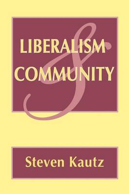 Liberalism and Community book
